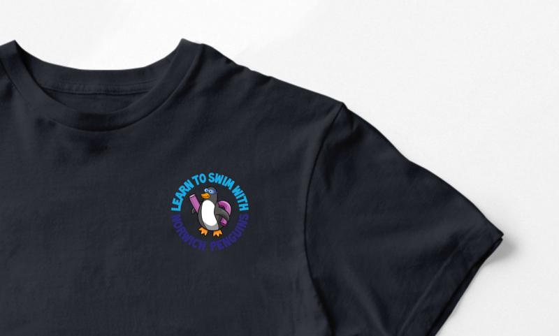Norwich Penguins T-shirt Design