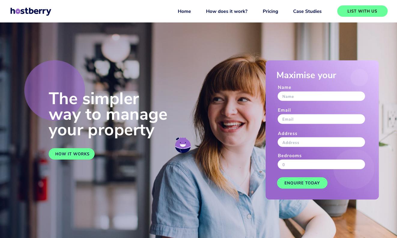 Hostberry_website_branding