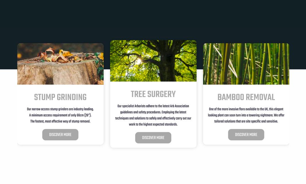 design visual of website
