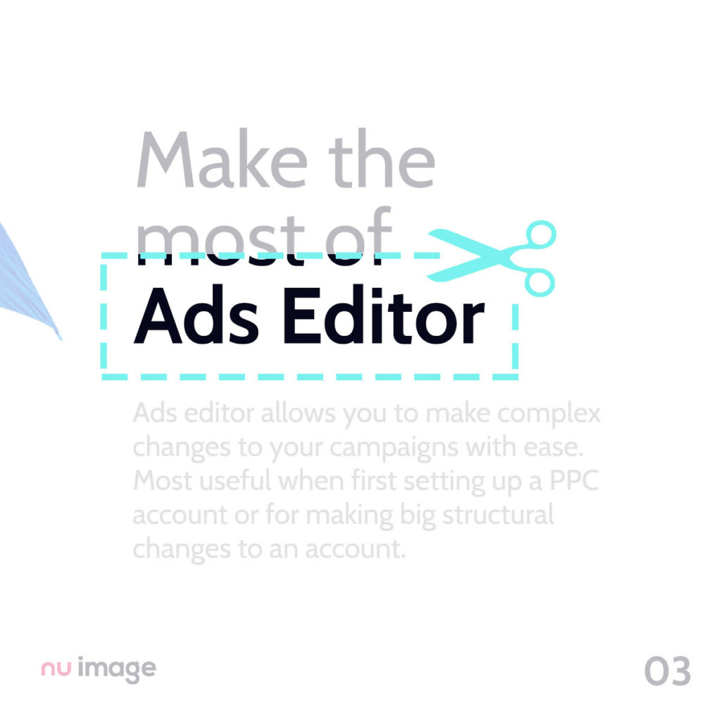 Make the most of Ads Editor