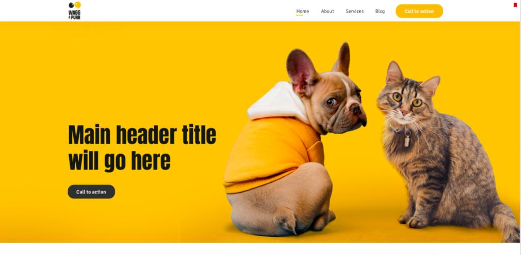 1st website design